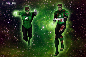 Injustice: Gods Among Us - Green Lantern New 52 by Sticklove