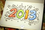 Happy New Year : 2013 by vicenteteng