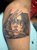 edward scissorhands tattoo by dottcrudele