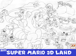 MOSM - Super Mario 3D Land by LuigiStar445