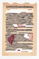 Altered Book Poem 1 by chaosjewels