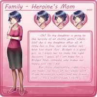Family: Heroine's Mom Chara Sheet by MagicalSakura