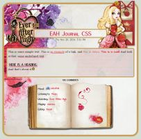 Apple White Journal CSS by A-queenoffairys