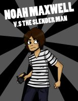 Noah Maxwell v.s The Slender Man by Sorrelin