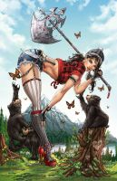 Zenescope Emerald City CC Exc, J. Tyndall by sinhalite