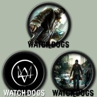 Watch Dogs Dock Icon by kodiak-caine