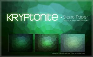 Kryptonite Stone Paper Pack by amadis33