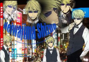 Shizuo wallpaper by grimmiko88