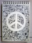 PEACE Doodles by kerbyrosanes