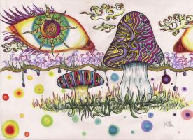 Eyes of the Psycho-delic by x-surrealist-x