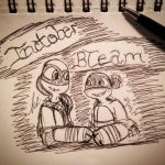 Inktober Drawing: BTEAM by Mikibaby94