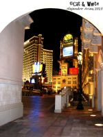 Sin City Main Entrance by Cat-n-White