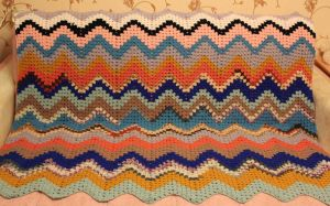 Crocheted Blanket by Vampiano
