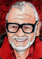 George Romero by Christopher-Manuel