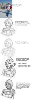 Powergirl process by TheCosbinator
