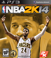 Paul George NBA2K14 Cover - PS3 by 1madhatter