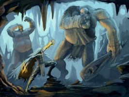 underdark encounter by vkucukemre