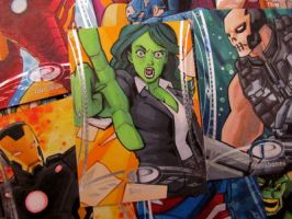 Marvel Premier She-Hulk by KidNotorious