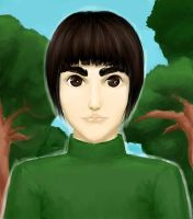 Rock Lee Nice Guy by Charredsky