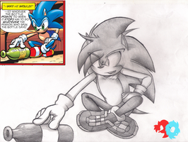 Manik the Hedgehog by R-redbob