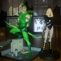 green arrow and black canary my newest dc couple by nightwing70