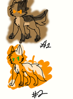 Cat Adoptables by SilverKitti