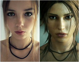 Lara makeup test~ by Izzybella4