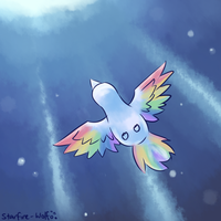 Speedpaint: Light of the Tiny Bird by starfire-wolf