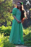 green dress  21 by MissKayaStock
