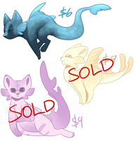 [CLOSED] Fish Cats by MiqotesosAdopts
