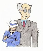 The Ventriloquist and Scarface by Trumpeteer34