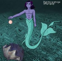 Merman for Lizza and by Lizza by linzi-chan
