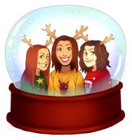 my family Christmas Card by Jazzie560