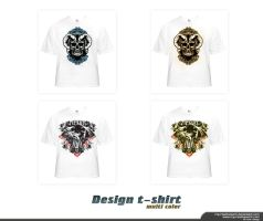 multi_color_design_t-shirt by mycreativework
