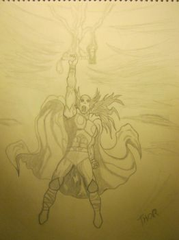THOR EL PODEROSO by hardywolf