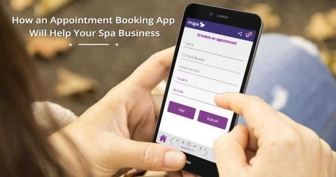 Appointment Booking App for your Spa business by mspaapp