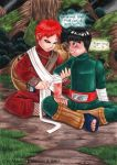 RockLee X Gaara - Take Care by BloodhoundOmega