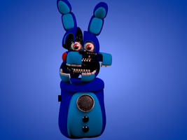 Funtime Bonnie WIP 2 by luizcrafted