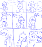 A very old comic that I made... by LotusTheKat