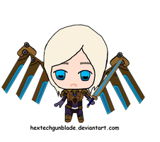 Aether Wing Kayle Chibi by HextechGunblade