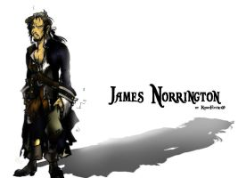 James Norrington    Comicstyle by KomyFly