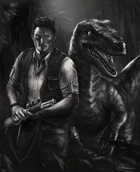 Jurassic World by Josephine-frays