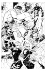 The Avengers (Inked) by Hodges-Art