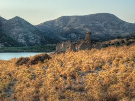 Sunset at Imbros by Pipera