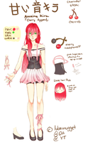 Amaine Kira Append- Concept Art by lubernugget