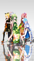 [MMD] TDA Chinadress[Carry Me off]Ver.Preview by rongsama
