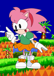 Classic Amy Rose by Reallyfaster