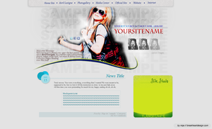 Avril Lavigne Layout by Miss--Nicole