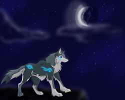Night watcher by wildwolves