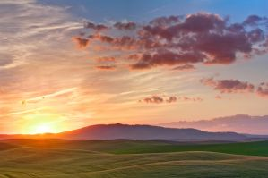 Palouse Sunset 5 by krovakny